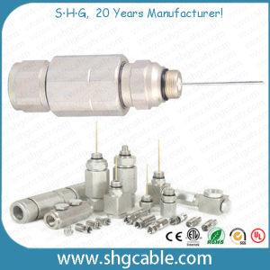 Qr540 P3 500 Trunk Coaxial Cable Aluminum Pin Connectors pictures & photos