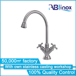 Classic Stainless Steel Kitchen Mixer/Faucet (AB017) pictures & photos
