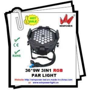New LED 36PCS 9W RGBW (3in1) PAR Light