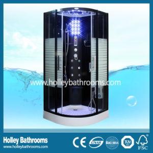 Excellent Multifunctional Steam Shower Room with Striated Translucent Glass Door (SR117B)