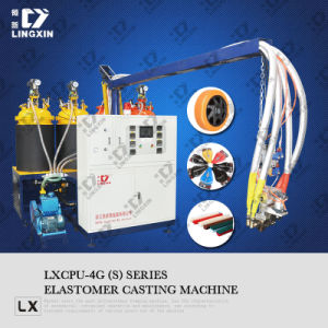 PU Elastomer Casting Machine for Various CPU Products Making pictures & photos
