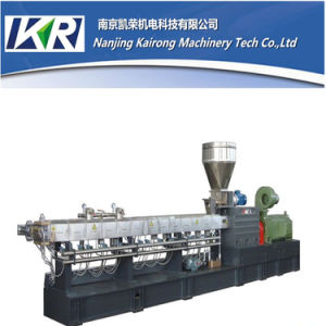 Tse Series Plastic Pellet Filler Masterbatch Twin Screw Extruder Machine Price for Pelletizer Extrusion Line pictures & photos