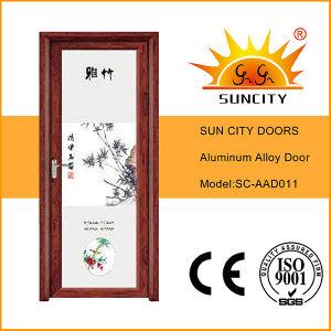 Interior Aluminium Door with Tempered Glass (SC-AAD011) pictures & photos