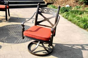 Leisure Aluminum Swivel Chair Furniture for Garden pictures & photos