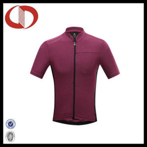 Wholesale Sportswear Plain Short Sleeve Cycling Jersey pictures & photos