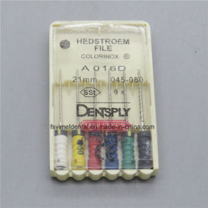 Dentsply Endo Root Canal H File 21mm 045-80 Sst pictures & photos