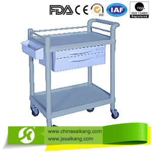 New Design Hospital Medicine Delivery Trolley pictures & photos