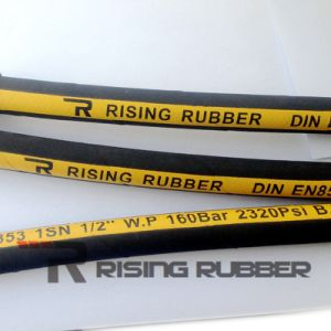 DIN En 853 1sn Hydraulic Rubber Hoses pictures & photos