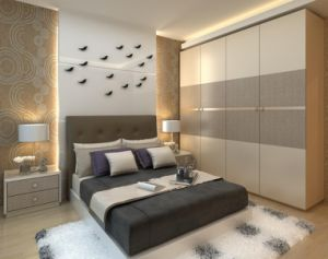 Modern Design Bedroom Furniture/Wardrobe with Sliding Door pictures & photos