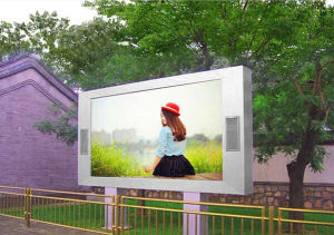 High Brightness P6 Outdoor Waterproof Full Color LED Video Screen pictures & photos
