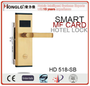 Keycard Hotel Room Control System Door Lock pictures & photos
