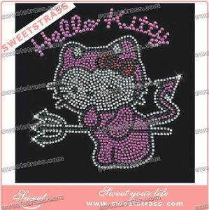 New Arrival Hot Fix Rhinestone Motifs for Garment Accessories pictures & photos