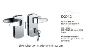 Xc-D2012 High Quality Glass Door Lock pictures & photos