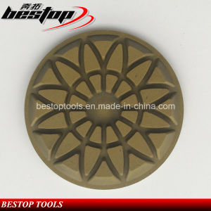 D80mm Flower Type Marble Floor Polishing Pad pictures & photos