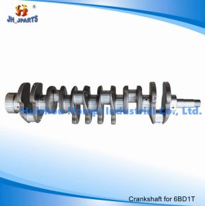 Forged Steel/Casting Crankshaft for Isuzu 6bd1t 6be1 6bf1 6bg1 6he1 pictures & photos