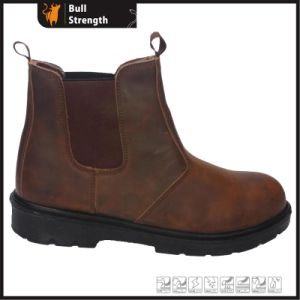 Leather Safety Boots with PU Sole (SN5407) pictures & photos