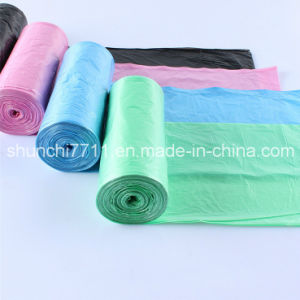Hot Sale PE Garbage Bag on Roll pictures & photos