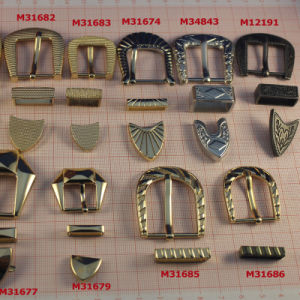 Antique Pin Buckle in 3 Piece Suit for Fashion Leather Shoes pictures & photos