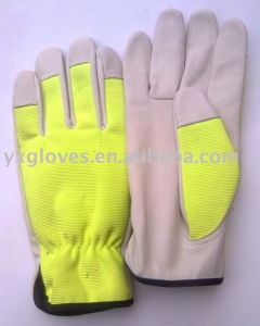 Pig Leather Glove-Garden Glove-Cheap Glove-Hand Protected Glove pictures & photos