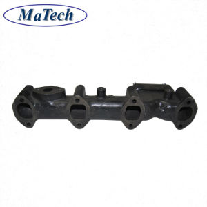 Custom Perforated Ductile Iron Hisimo or Hini Sand Casting of Turbo Exhaust Manifold pictures & photos