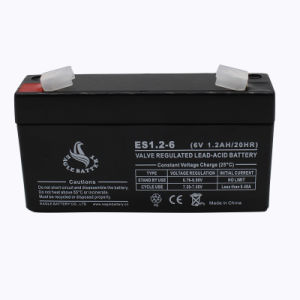 6volt 1.2ah Lead Acid Battery for Electric Scale pictures & photos
