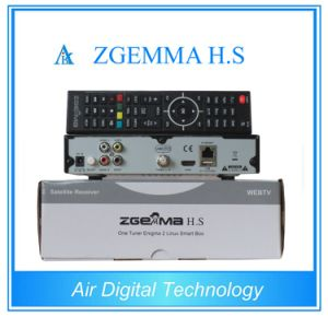 DVB S/S2 FTA HD Zgemma H. S Dual Core Satellite Receiver pictures & photos