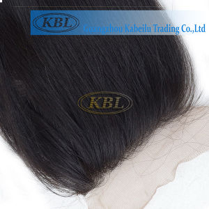 Brazilian Silk Closure Come with Baby Hair pictures & photos
