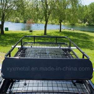 Universal Car Top Roof Cargo Basket Black Steel Rack pictures & photos