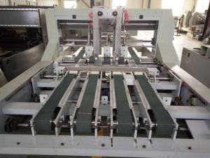 Automatic Stitching Machine with Folder Part for Box Making pictures & photos