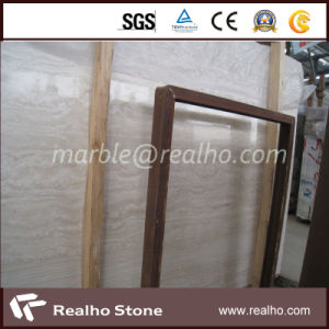 Natural Marble Super White Travertine for Bathroom Flooring / Wall/Kitchen