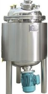 Stainless Steel Bottom Agitating Mixing Tank pictures & photos