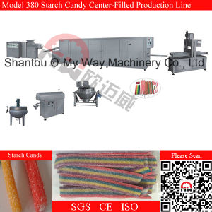 Center Filled Starch Candy Production Line Bubble Gum Making Line pictures & photos