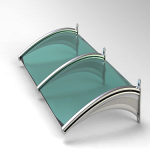 10-Year Guarantee100% Virgin Sabic Polycarbonate Awning (XH-Z-A--77) pictures & photos