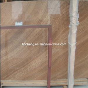 Natural Wood Grain Stone Marble Slab, Marble Tile, Floor Tile pictures & photos