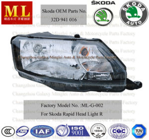 Auto Head Lamp for Skoda Rapid From 2012 (5JB941016) pictures & photos