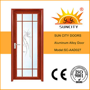 Factory Price Single Used Interior Aluminum Doors (SC-AAD027) pictures & photos