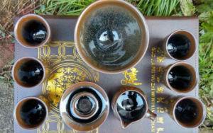 Temmoku Tea Cup