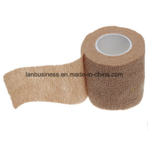 Medical First Aid Elastic Self Adhesive Bandage Gauze Tape pictures & photos