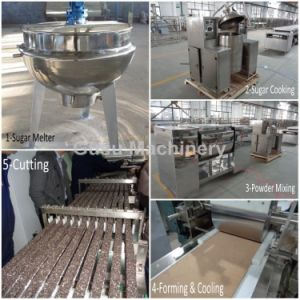 Ce Certified Small Capacity Snack Food Candy Bar Forming Cutting Machine pictures & photos