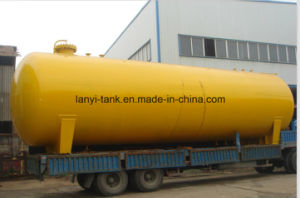 50, 000L Carbon Steel Middle Pressure 18bar Chemical Storage Tank for Ammonia, Chlorine, Refrigerant Gas pictures & photos