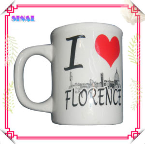 Professional Ceramic Half Mug Supplier Magnetic Souvenirs