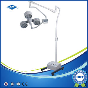Floor LED Shadowless Surgical Emergency Operating Lamp (YD02-LED4E) pictures & photos
