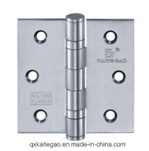 """Stainless Steel Door Hinge for Wooden Door (3""""X3""""X2.5mm-2BB) pictures & photos"""