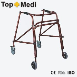 Hospital Standrad Rehabilitation Walking Aids Rollator for Patient pictures & photos