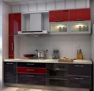 MDF Lacquer Matt Finish Kitchen Cabinets pictures & photos
