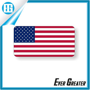 Custom Design American Flag Hard Hat Label Stickers pictures & photos