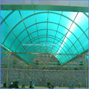 Hollow Polycarbonate Pergola Sheet for Building Material pictures & photos