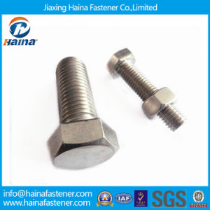 Jiaxing Haina ASTM Grade 5 Zinc Plated Hex Cap Screw pictures & photos