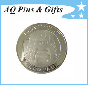 Mirror Coin with Silver Platied pictures & photos