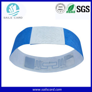Colorful Christmas Party Paper Tyvek Wristbands on Wholesale pictures & photos